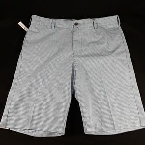 New Mens Izod size 36 Chinos Shorts Blue Straight